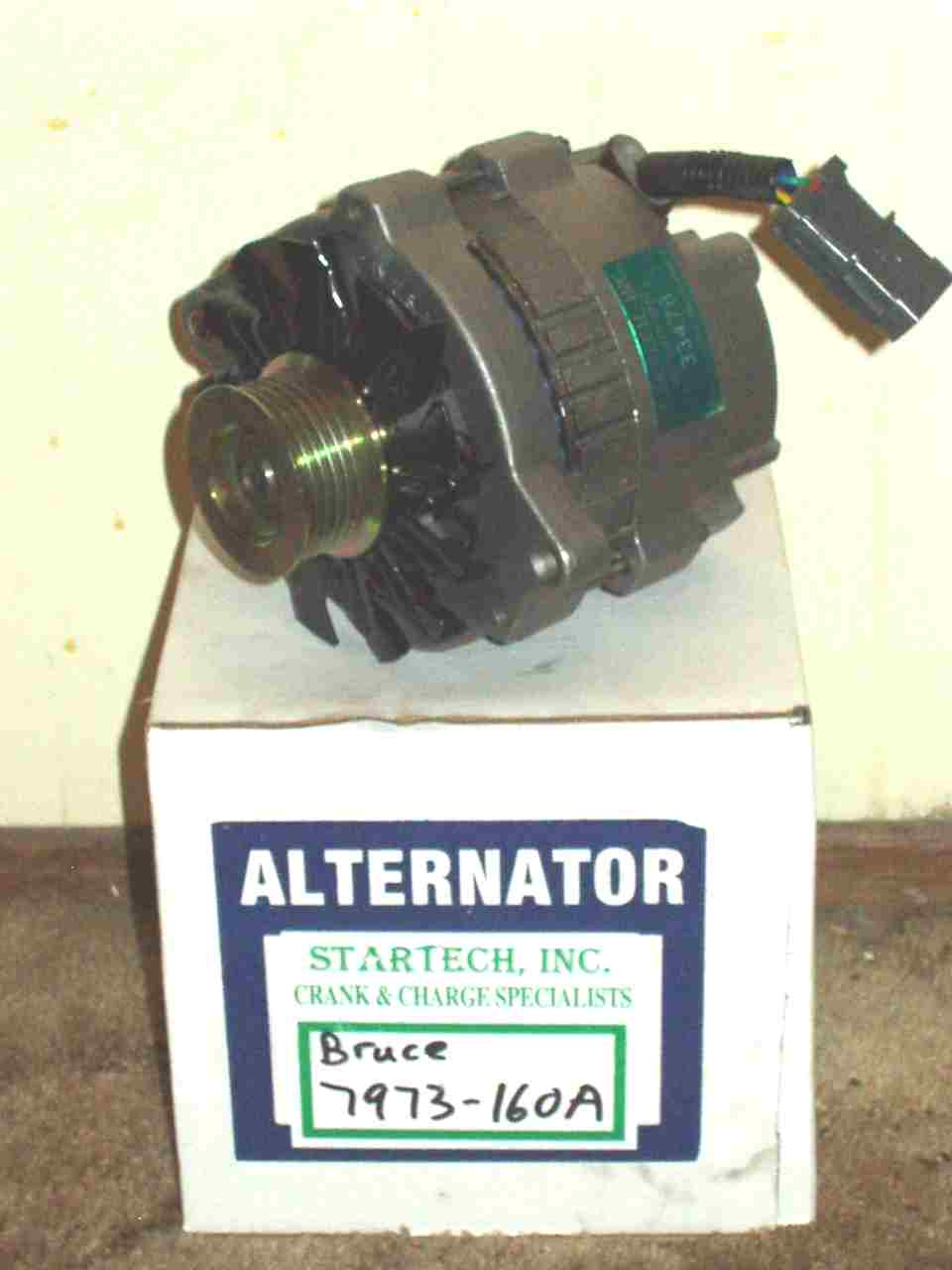 Startech 160 Amp Alternator And Grounding Kit Install