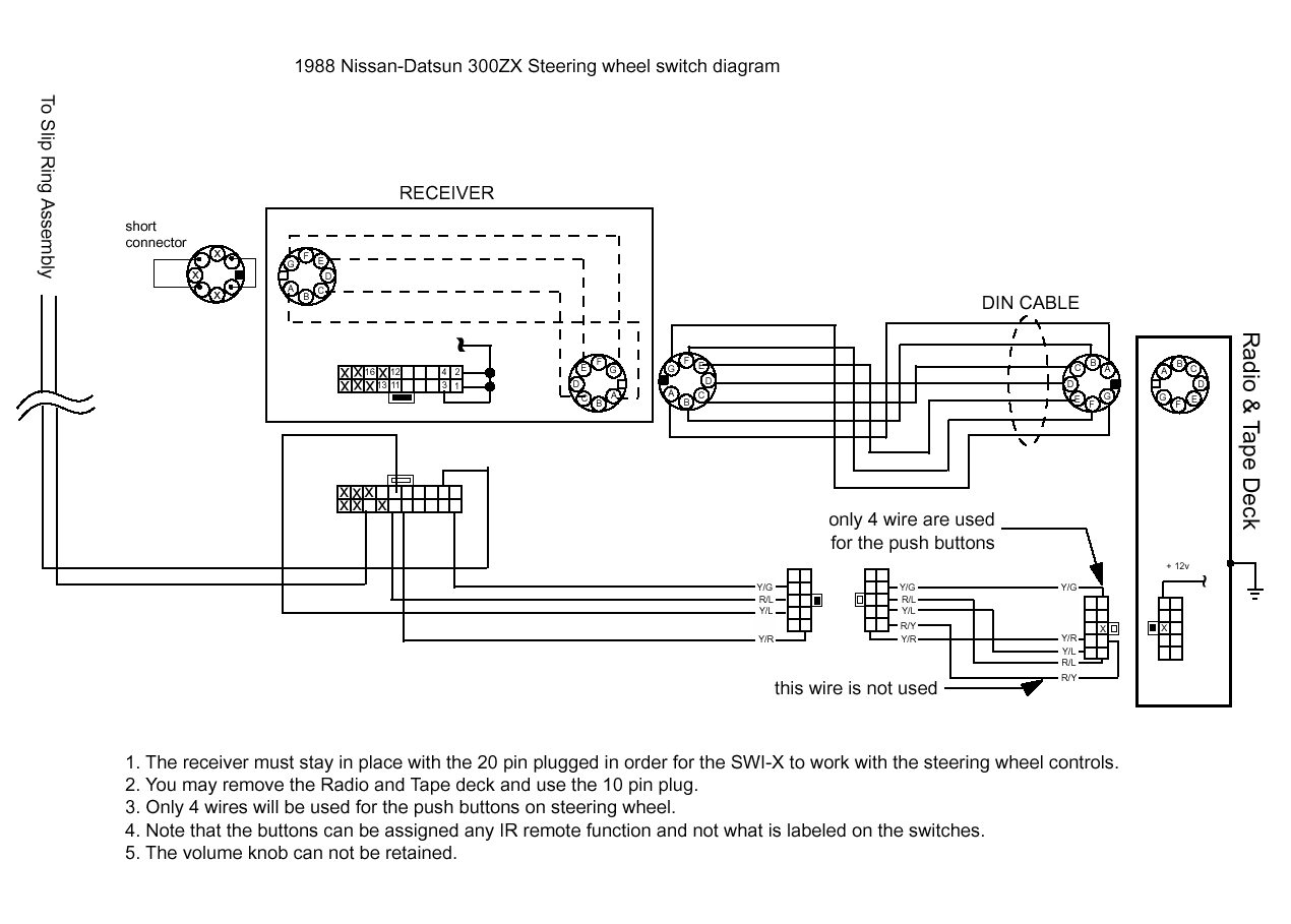 Nissan 300zx Stereo Wire Diagram Content Resource Of Wiring 1987 Jvc Kd Avx2 Installation 1984 1990